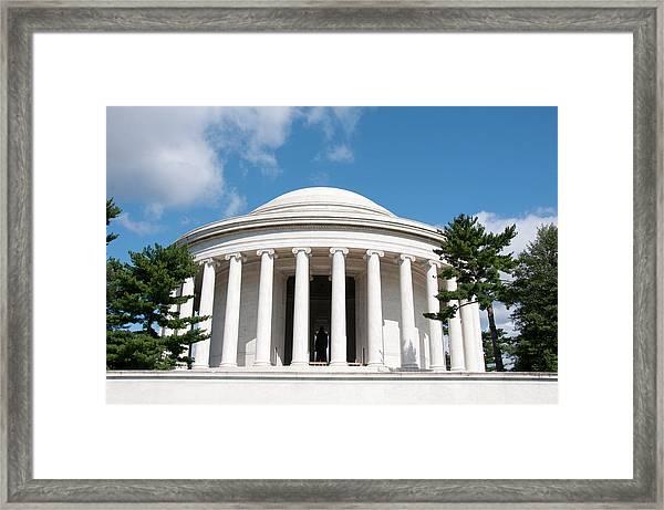 Jefferson Memorial, Washington, Dc Framed Print by Lee Foster