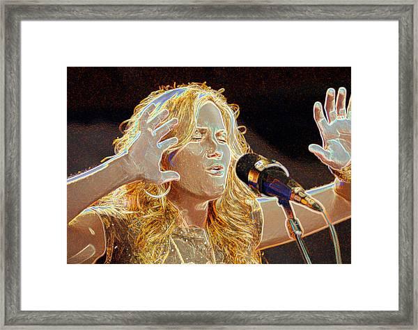 Jennifer Nettles Sugarland Framed Print