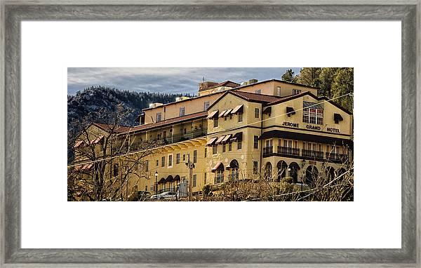Jerome Grand Hotel No.18 Framed Print