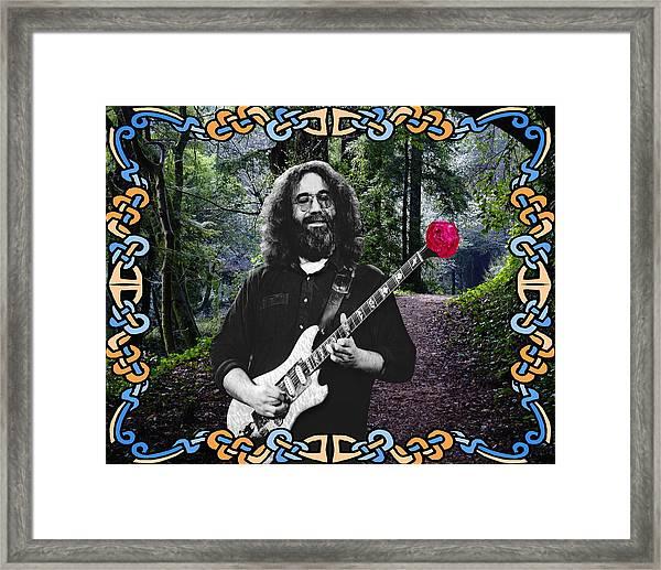 Jerry Road Rose 1 Framed Print