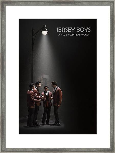 Jersey Boys By Clint Eastwood Framed Print