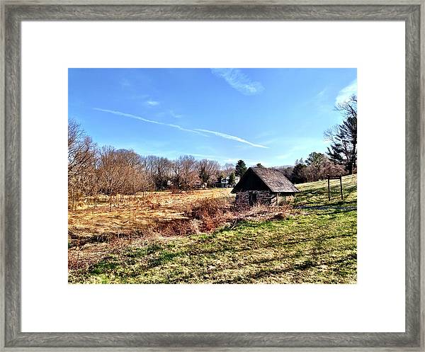 Jerusalem Mill Spring House Framed Print
