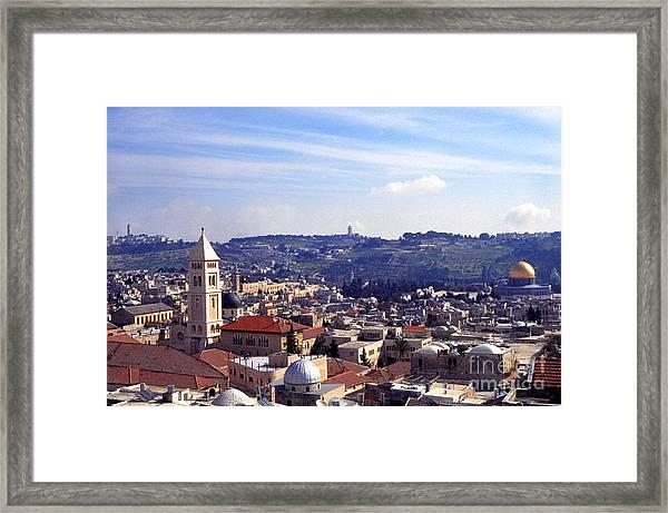 Jerusalem Framed Print
