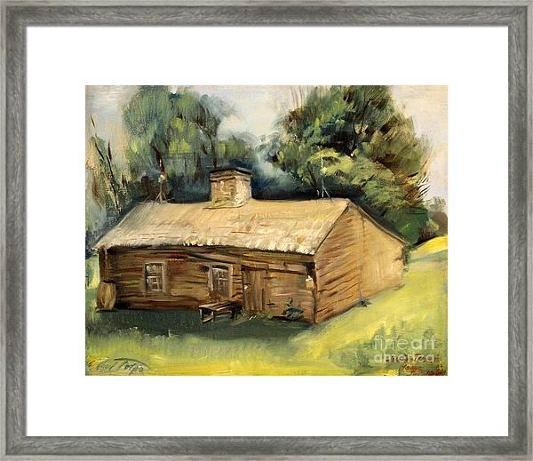 Jesse James Home 1940 Framed Print