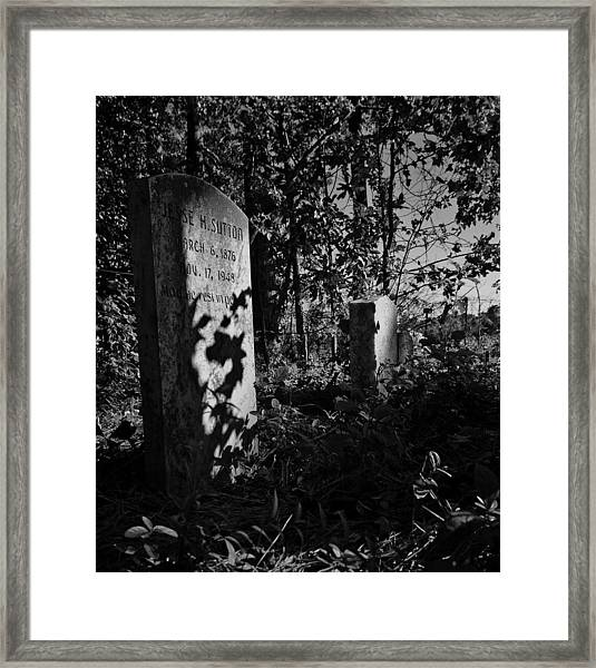 Jesse Sutton  Framed Print