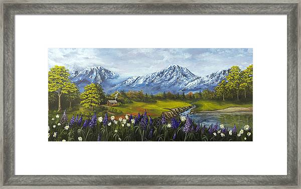 Jessy's View Framed Print