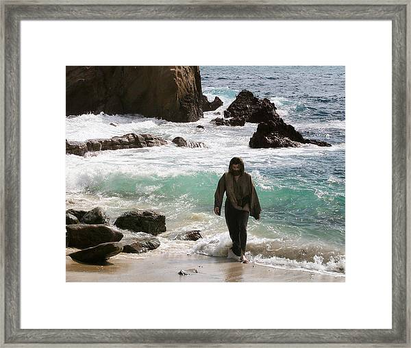 Jesus Christ- Anyone Who Has Seen Me Has Seen The Father Framed Print