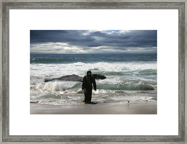 Jesus Christ- Behold I Come Quickly Framed Print