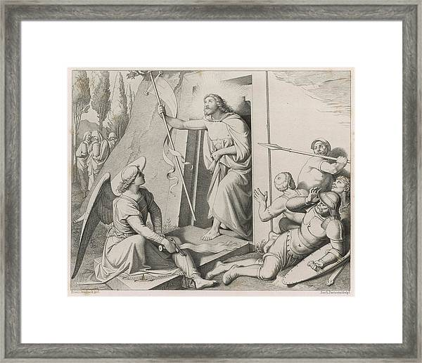 Jesus Emerges From The Tomb,  Whose Framed Print