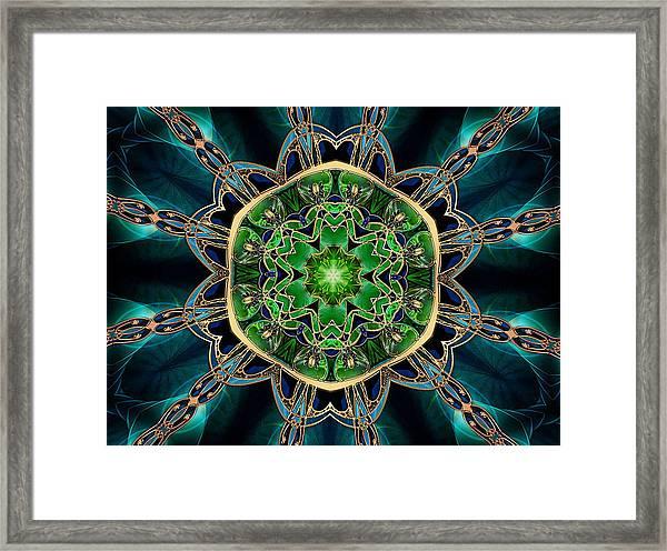 Jewel Of The Nile Framed Print