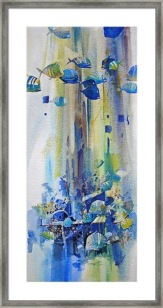 Jewels Of The Islands Framed Print