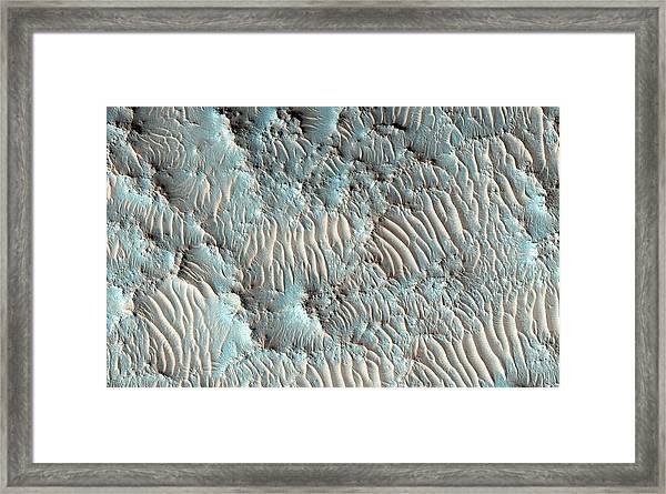 Jezero Crater Framed Print