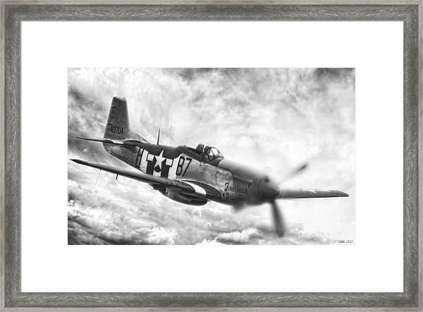 Jig Is Up Framed Print by Peter Chilelli