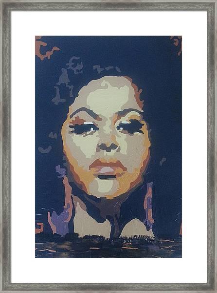 Jill Scott Framed Print