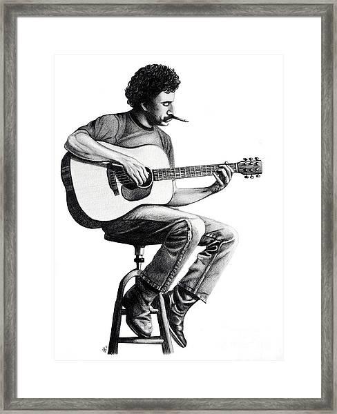 Jim Croce Framed Print
