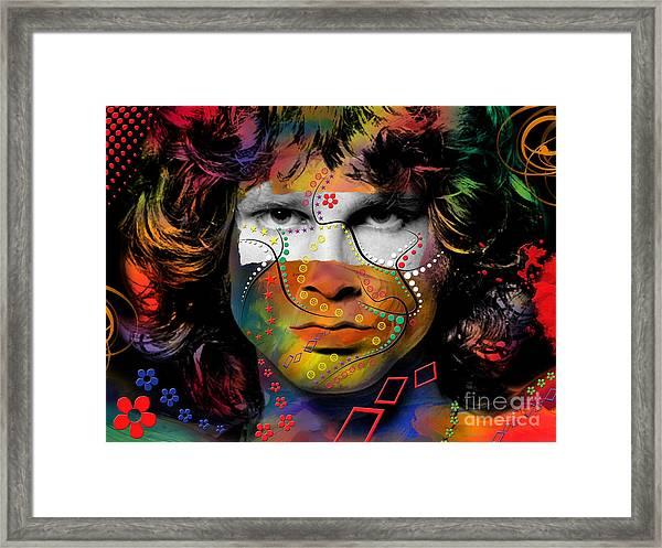 Jim Morrison Framed Print