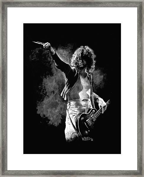 Jimmy Page Framed Print