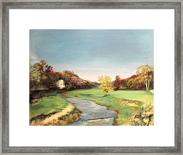 Jo Daviess County Illinois Framed Print