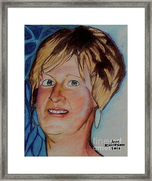 Jodi Framed Print
