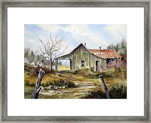 Joe's Place Framed Print