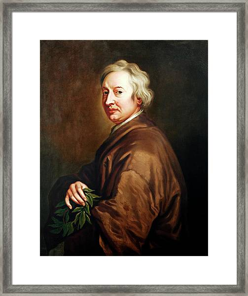 John Dryden Framed Print by Bodleian Museum/oxford University Images