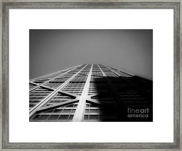 John Hancock Center Framed Print