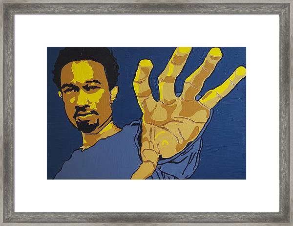 John Legend Framed Print