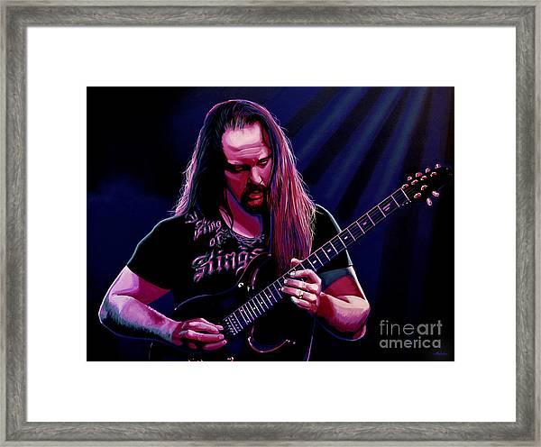 John Petrucci Painting Framed Print