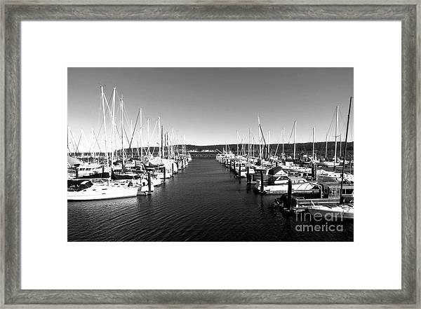 John Wayne Marina Framed Print