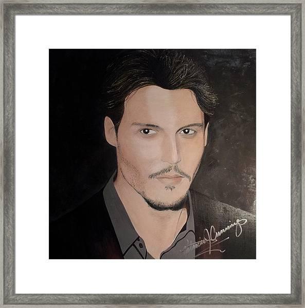 Johnny Depp - The Actor Framed Print