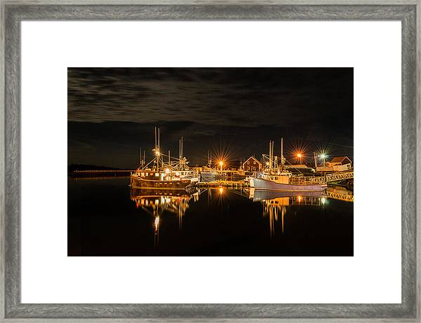 Framed Print featuring the photograph John's Cove Reflections by Garvin Hunter
