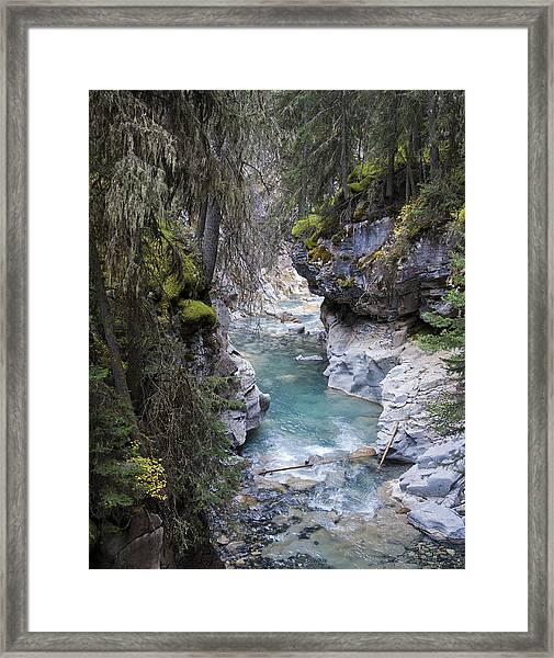 Johnsons Canyon Framed Print