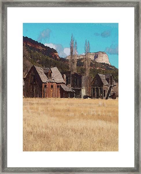 Johnsonville Framed Print