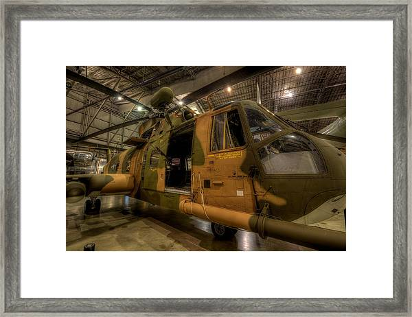 Jolly Green Hh-3e Rescue Framed Print