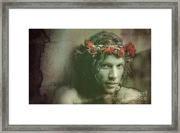 Jon -color- Framed Print