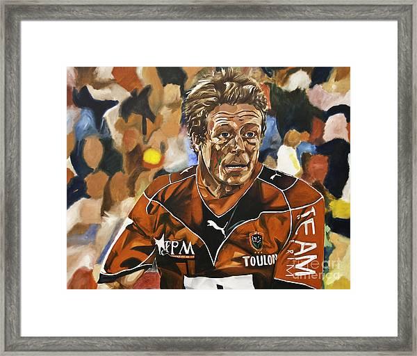 Jonny Wilkinson Framed Print