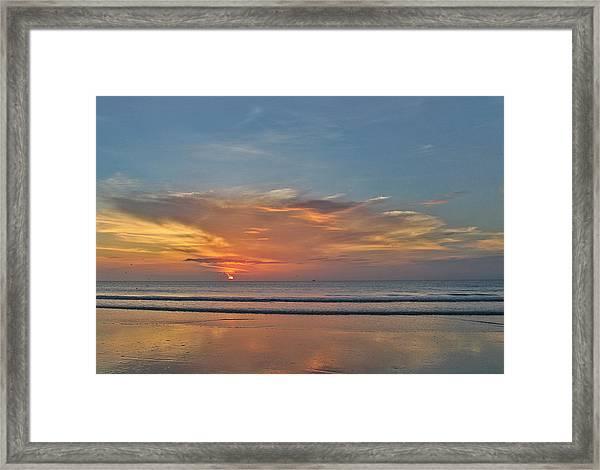 Jordan's First Sunrise Framed Print