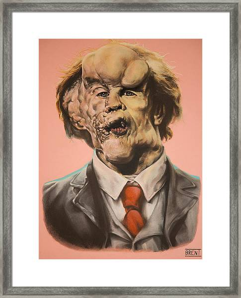Joseph Merrick The Elephant Man Framed Print