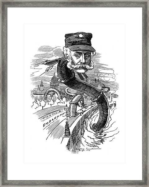 Joseph William Bazalgette, English Framed Print