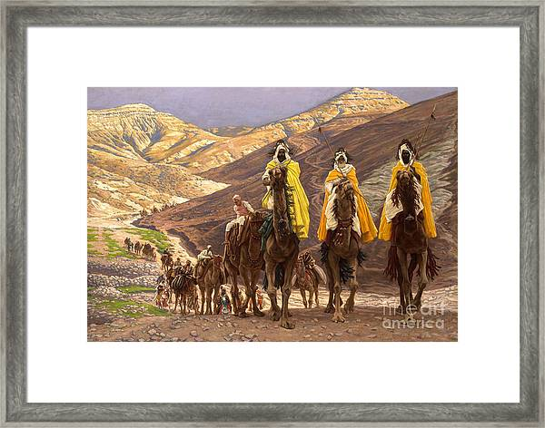 Journey Of The Magi Framed Print