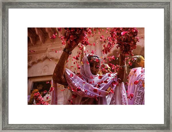 Joy Of Life Framed Print by Avishek Das