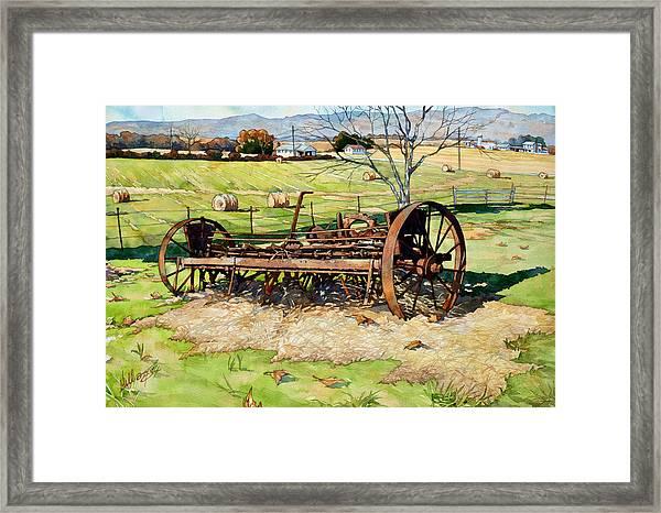 Joy Of Rust Framed Print