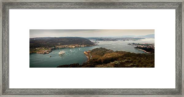 Juan Sebastián Elcano Setting Sail Framed Print
