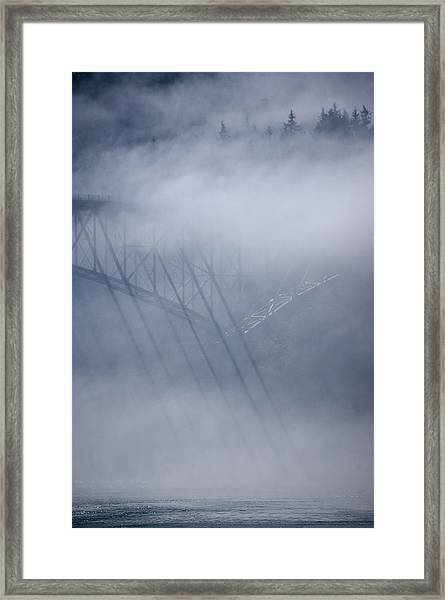 July's Illusions Framed Print by Tom Trimbath