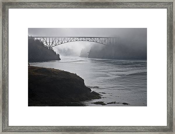 July's Passage Framed Print by Tom Trimbath