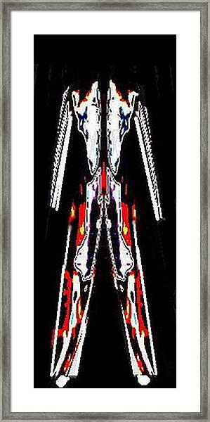 Jumpsuit Framed Print