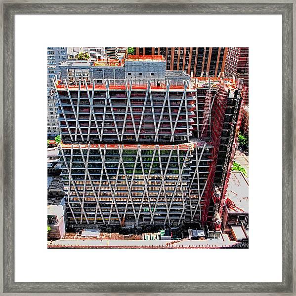 Jun 2014 Rear Above Framed Print