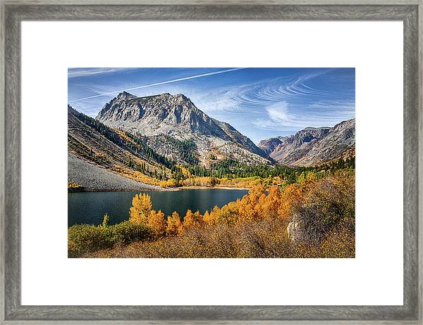 June Lake Fall Colors Framed Print