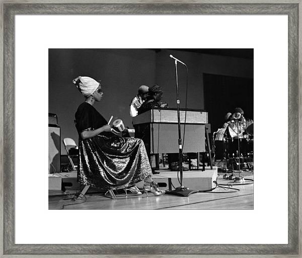June Tyson 1968 Framed Print