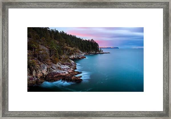 Juniper Point Framed Print